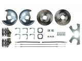 1967-1969 Camaro Rear Disc Brake Conversion Kit, Non-Staggered Shocks