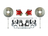 1982-1992 Camaro Rear Disc Brake Conversion Kit, w/ Parking Brake, Red Show N' Go