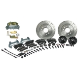 1968-1974 Nova Signature Front Manual Disc Brake Kit, 2 Inch Drop