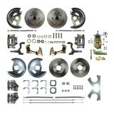 1964-1972 Chevelle 4 Wheel Disc Brake Kit, 11 Inch Booster