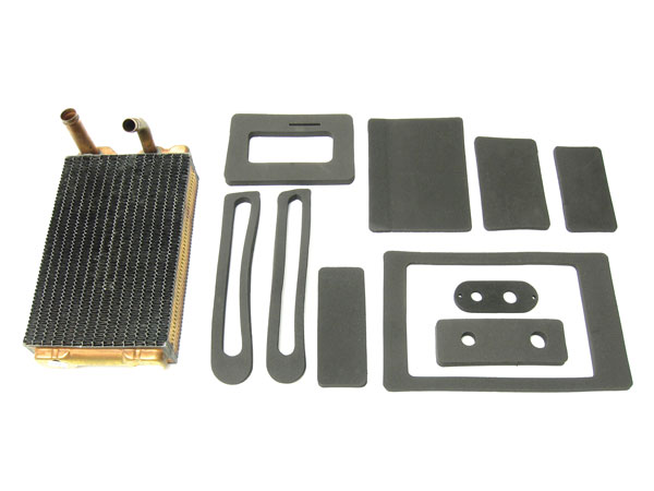 1968-1974 Nova Small Block Heater Core And Box Seal Kit Without Air Conditioning