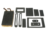 1969-1981 Camaro Small Block Without Air Conditioning Heater Core And Box Seal Kit