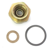 1967-1981 Camaro Carburetor Inlet Fittings, 3/8 Inch