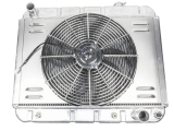 1966-1967 Chevelle Aluminum Radiator Kit