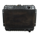 1962-1965 Nova Small Block 4 Row OEM Heavy Duty Radiator, Manual Transmission