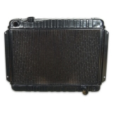 1966-1967 Chevelle 4 Row OEM Heavy Duty Radiator, Automatic Transmission