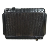 1966-1967 Chevelle 4 Row OEM Heavy Duty Radiator, Manual Transmission