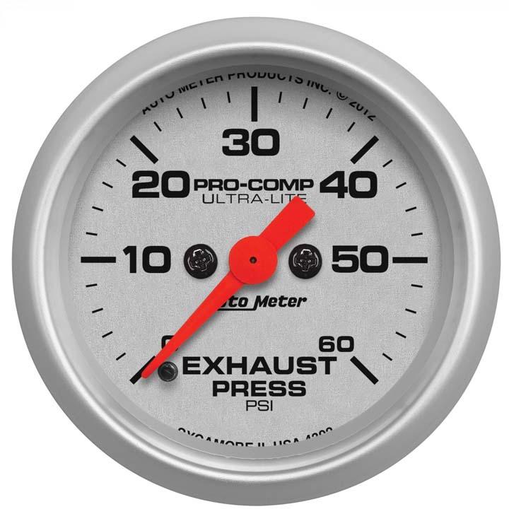 AutoMeter 4322 Ultra-Lite Mechanical Oil Pressure Gauge