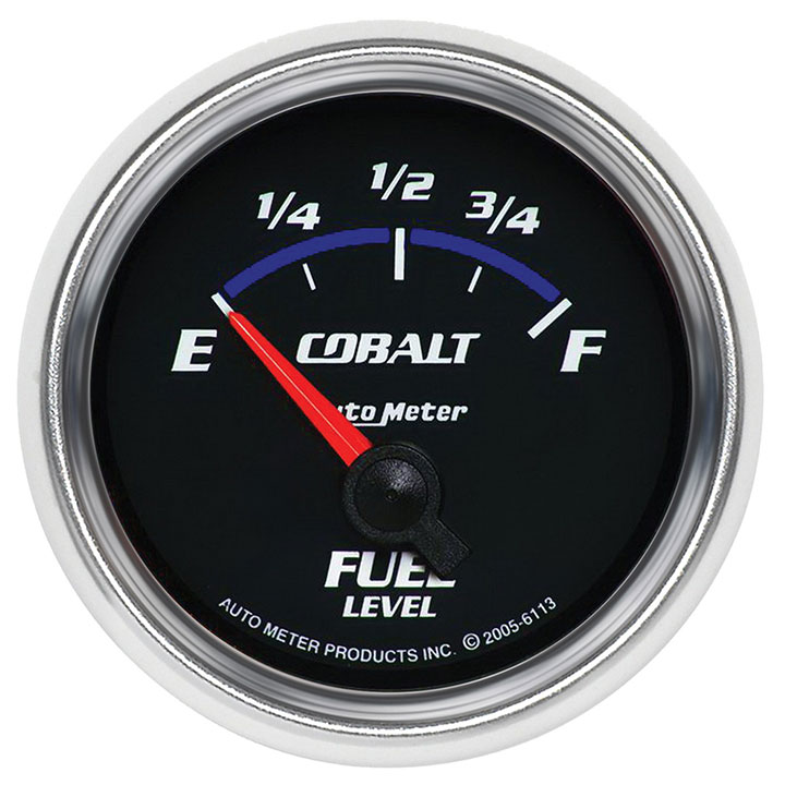 AutoMeter 2-1/16in. Fuel Level Gauge, 0-90 Ohm, GM, SSE, Cobalt: 6113