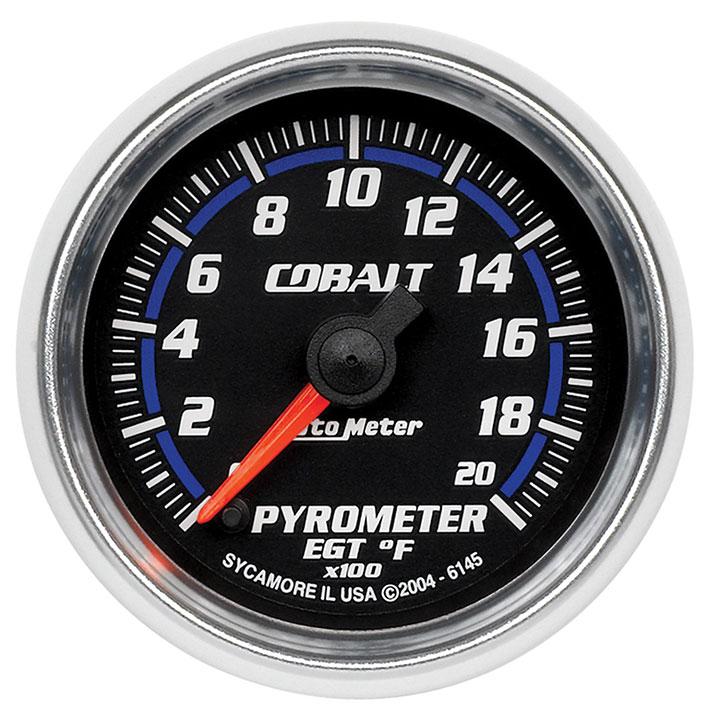 AutoMeter 2-1/16in. Pyrometer, 0-2000F, Cobalt: 6145