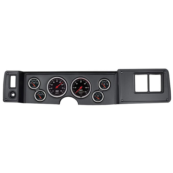 1979-1981 Camaro AutoMeter Direct Fit 6 Piece Gauge Kit, Designer Black: 7023-DB