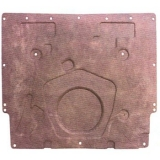 1967-1969 Camaro Without Cowl Induction Hood Insulation Molded OEM