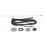 1967-1968 Camaro Rear Antenna Kit AM FM Fixed Mast