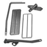 1967-1969 Camaro Accelerator Pedal Linkage Kit With Cowl Induction