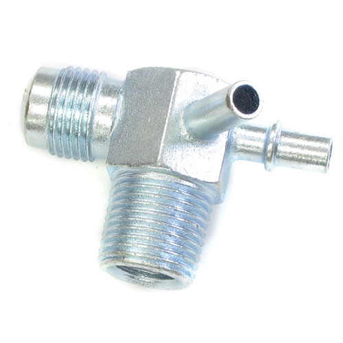 Chevrolet intake manifold vacuum fitting slip