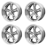 American Racing Torq Thrust 2 Wheel Kit, 14x7 Chrome: VN6154761