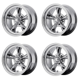 American Racing Torq Thrust D Wheel Kit, 15x7 Chrome: VN6055761