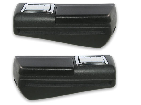 1968-1969 Chevelle Rear Arm Rest Kit without Chrome Trim