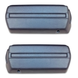 1968-1969 Camaro Arm Rest Base Set Dark Blue