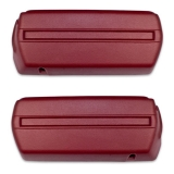 1968-1969 Camaro Arm Rest Base Set Red