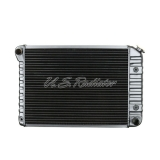 1972-1975 Nova Small Block 4 Row Radiator For Automatic