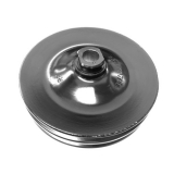1969-1981 Camaro Power Steering Pump Pulley 2 Groove For A/C