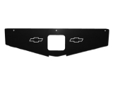 1978-1981 Camaro Radiator Support Show Panel Bowtie, Black Anodized