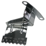 1967-1981 Camaro Small Block Timing Cover Pointer With 7 & 8 Inch Bal