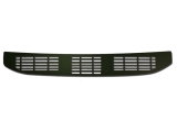 1968-1969 El Camino Cowl Vent Grille Panel Black Anodized