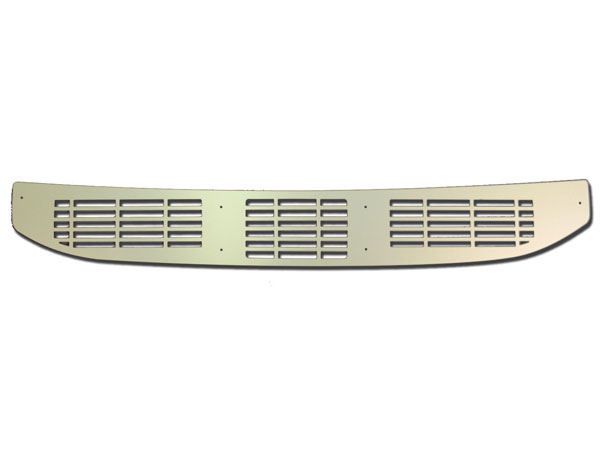 1970-1972 El Camino Cowl Vent Grille Panel Clear Anodized