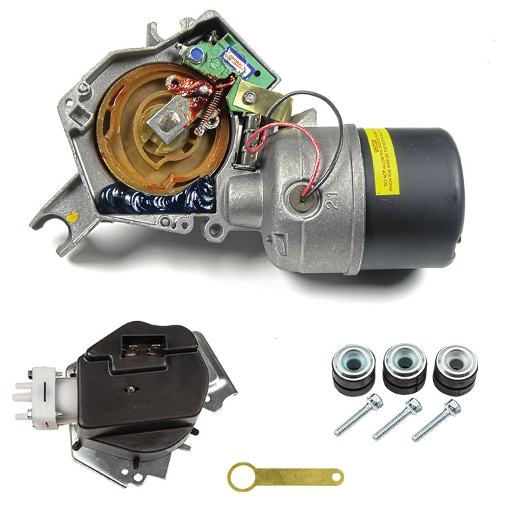1968-1972 Chevelle Wiper Motor With Hidden Wipers