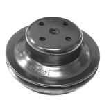 1969-1972 Chevelle All V-8 Water Pump Pulley Double Groove With Ac