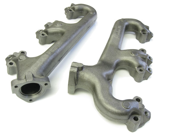 1964 1972 Chevrolet Small Block Exhaust Manifolds With Smog