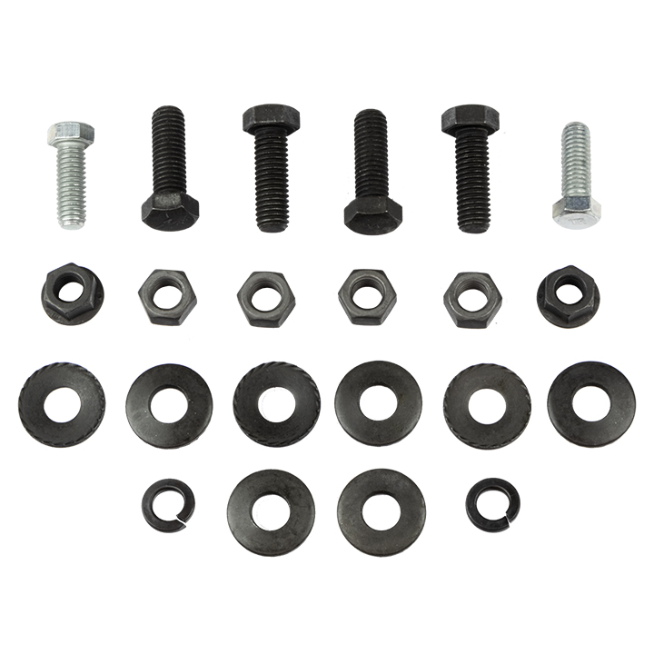1968-1969 El Camino Rear Bumper Bracket Bolt Kit