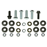 1968 Chevelle Rear Bumper Bracket Bolt Kit