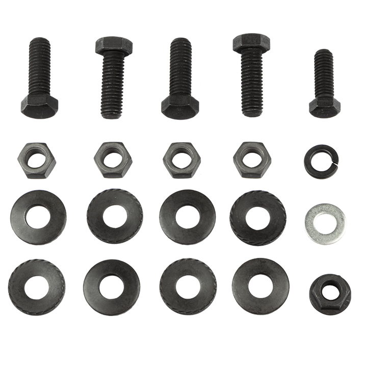 1970-1972 El Camino Rear Bumper Bracket Bolt Kit
