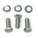 1967-1981 Camaro Crank Pulley OEM Attaching Bolt Kit With Fine Thread