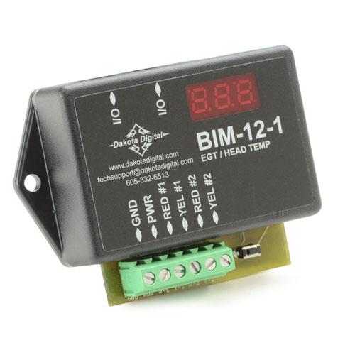 Dakota Digital EGT, Head Temperature Module: BIM-12-1