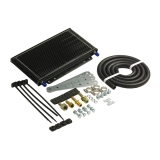 1967-2019 Camaro B&M Large Transmission Super Cooler Kit, 14400 BTU Rating, Black