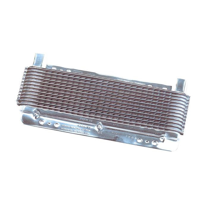 1964-1977 Chevelle B&M Small Transmission Super Cooler, 7500 BTU Rating, Polished: 70265