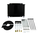 1967-2019 Camaro B&M Medium Transmission Super Cooler Kit, 13000 BTU Rating, Black