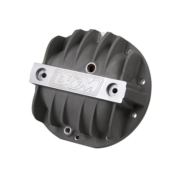 1964-1977 Chevelle B&M Cast Aluminum Differential Cover, 8.2 Inch, 10 Bolt, B.O.P.: 70503