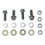 1964-1972 Chevelle Transmission Crossmember Mount Bolt Set.