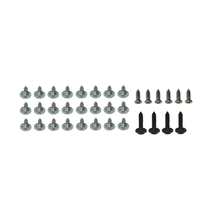 1968-1972 Chevelle Convertible Top Weatherstrip Hold Down Screw Kit