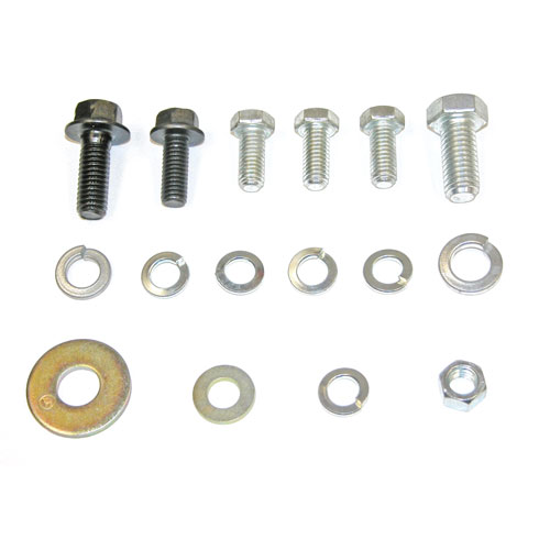 1967-1968 Camaro Small Block Power Steering Bracket Hardware Kit