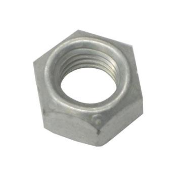 1962-1979 Nova Self Locking Coarse Thread Nut 3/8 Zinc