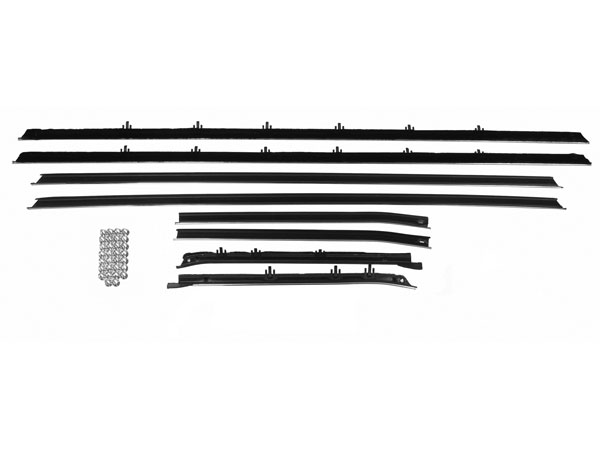 1970-1972 Chevelle Coupe Replacement Style Window Felt Kit