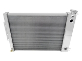 1967-1969 Camaro BB Aluminum Radiator Champion Core Series 3 Core - 600-800HP - Dual Pass & LS Swap