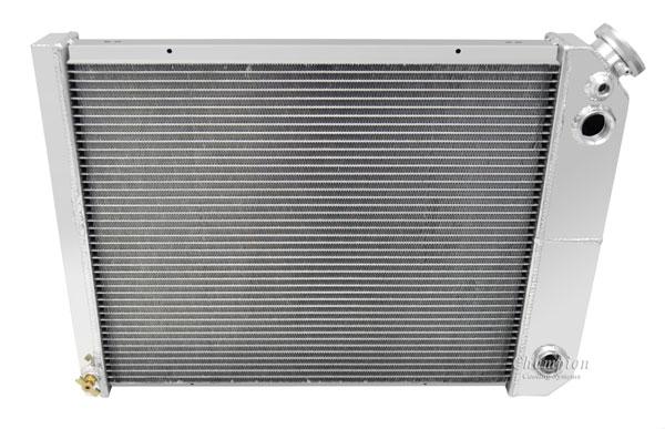 1968-1979 Nova Champion Cooling Aluminum Radiator Champion Series 3 Core - 600-800HP - LS Swap
