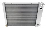 1970-1981 Camaro Champion Cooling Aluminum Radiator Champion Series 3 Core - 600-800HP - LS Swap